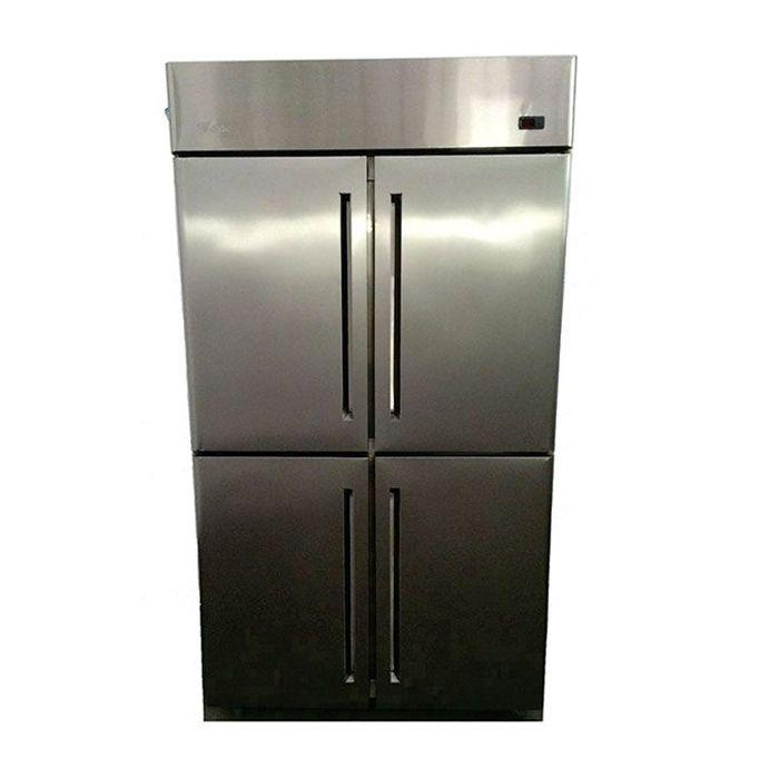 Refrigerador comercial 04 portas monarcha inox 1000lt 220v ref. 00.001.0002-gi
