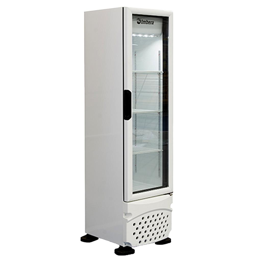 Refrigerador Expositor Para Bebidas Vertical 230L Imbera VR08 Branco - 127v