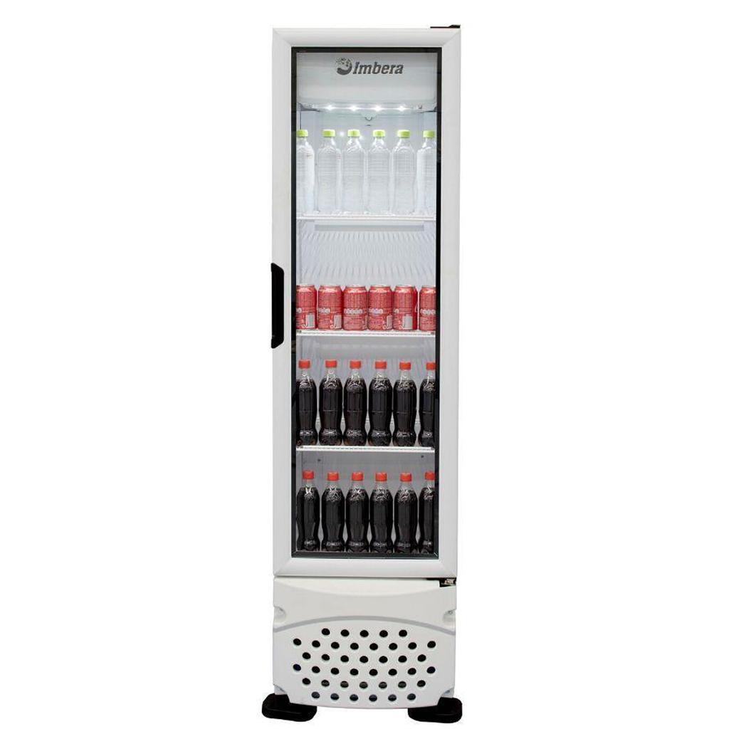 Refrigerador Expositor Para Bebidas Vertical 230L Imbera VR08 Branco - 220v