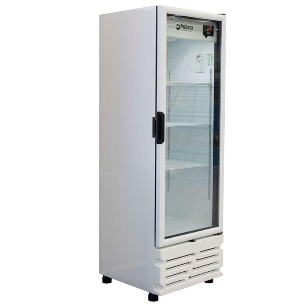 Refrigerador Expositor Para Bebidas Vertical 455L Imbera VRS16 Branco - 220V