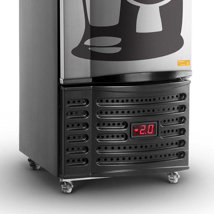 Refrigerador vert.p.cega 230lt 127v cervejeira tipo inox refrimate mod.vcshb230