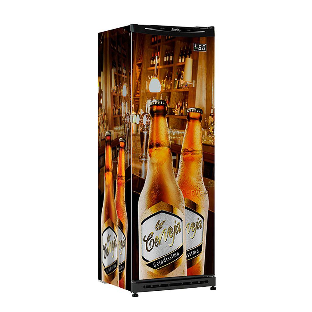 Refrigerador vert. p.cega 300lt 127v cervejeira esmaltec ref.cv300r