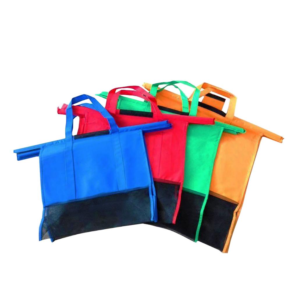 Kit Com 4 Sacolas Reutilizáveis ShopMax