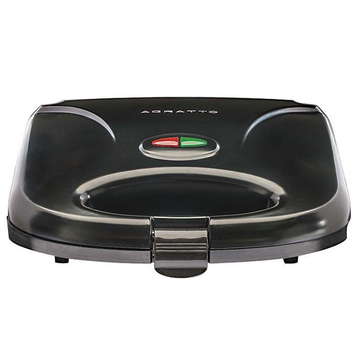 Sanduicheira eletrica agratto 127v mod. grill black