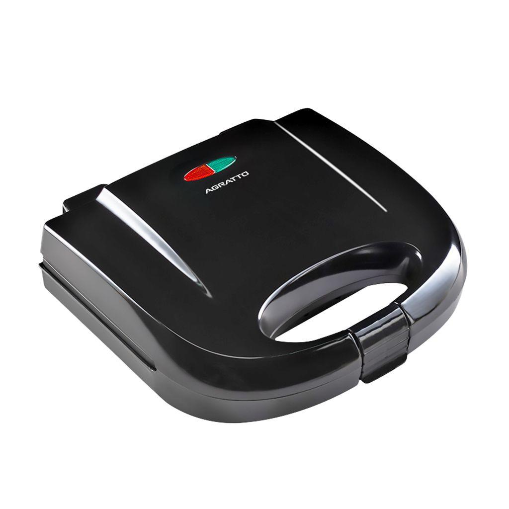 Sanduicheira simples eletrica agratto 127v mod. grill black