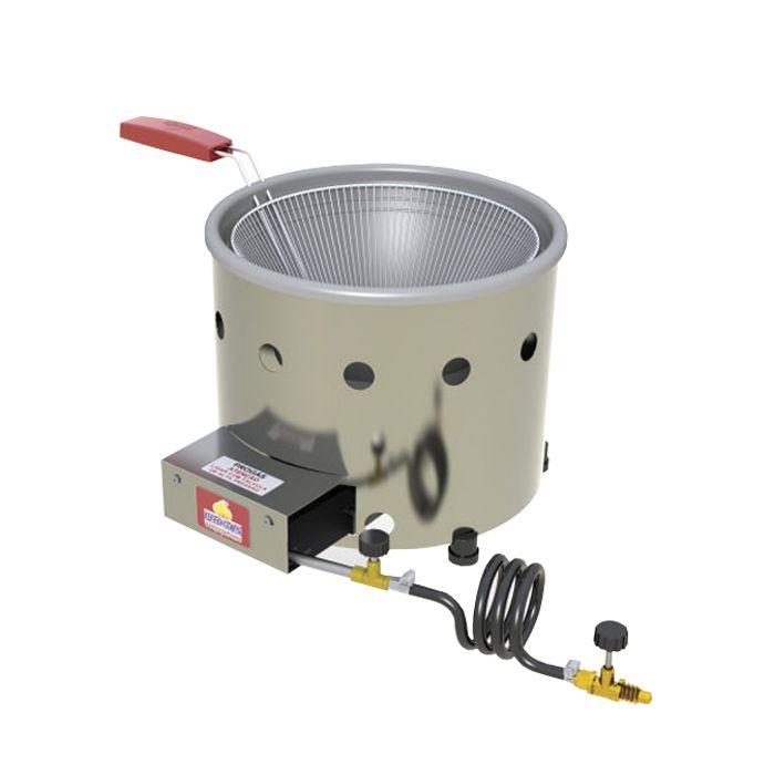 Tacho p/ frituras a gas 3lt alta pressao progas c/ gaveta mod. pr-310g 5022