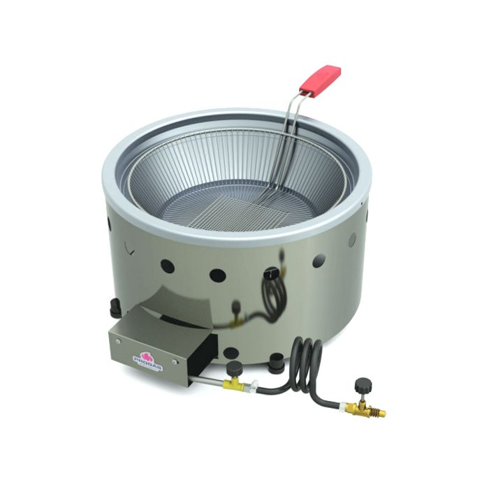 Tacho p/ frituras a gas 7lt alta pressao progas c/ gaveta mod.pr-70g ref.5025