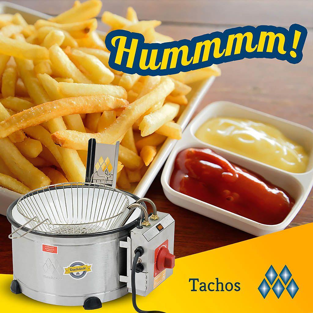 Tacho p/ frituras eletrico 127v 3,5lt marchesoni ref. th.1.301