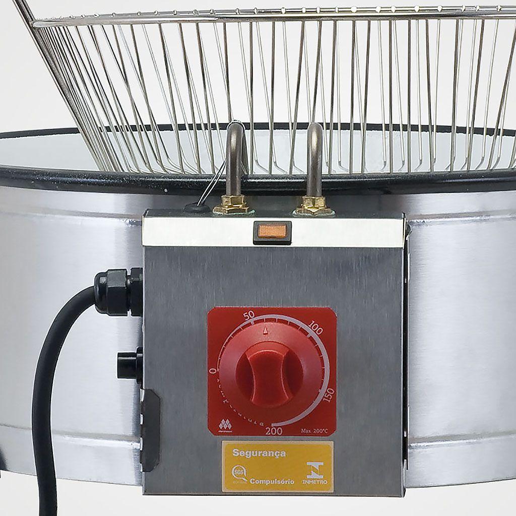 Tacho p/ frituras eletrico 127v 7,5lt marchesoni ref. th.1.701