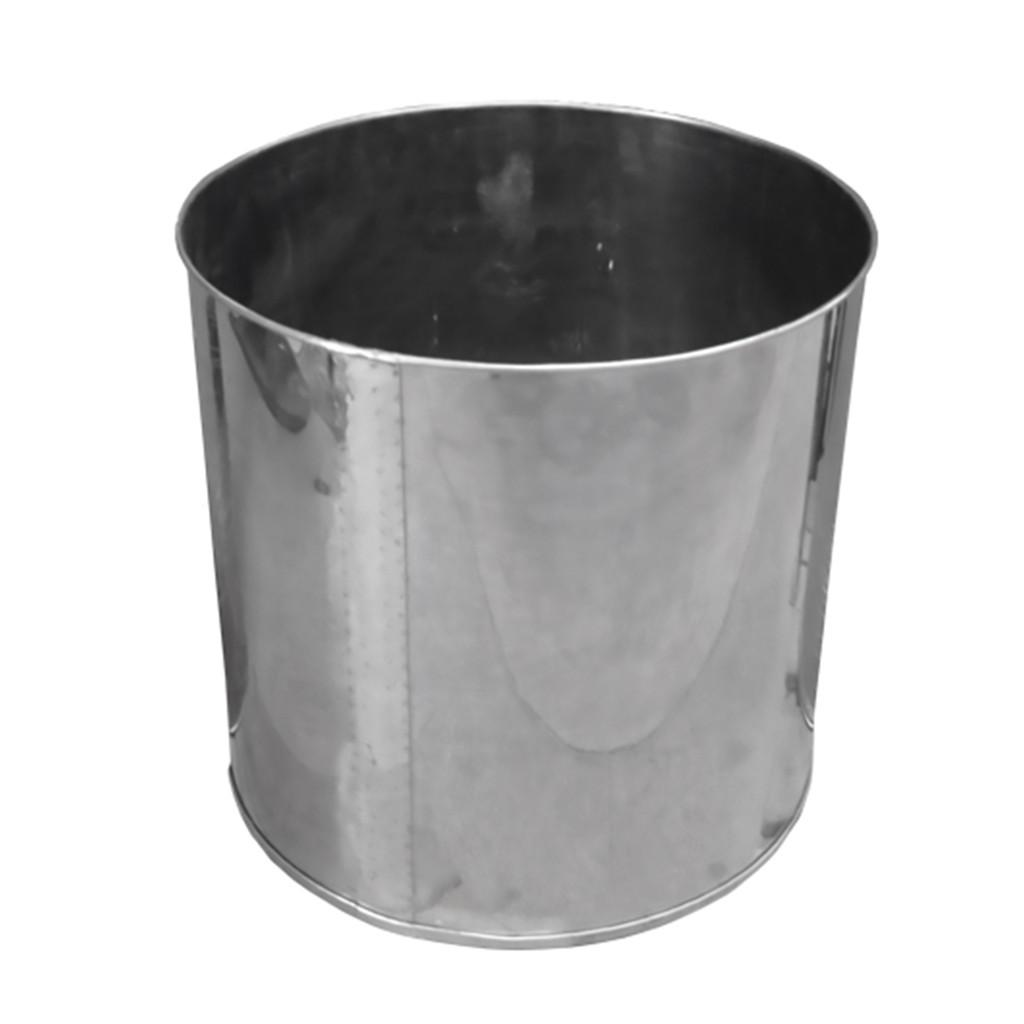 Tanque Inox Para Higienização De Açaí 50L STD-50L Metanorte