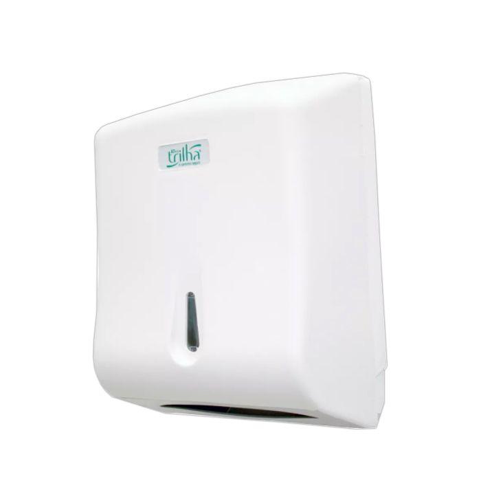 Porta Papel Interfolha Trilha T-0801PL Branco