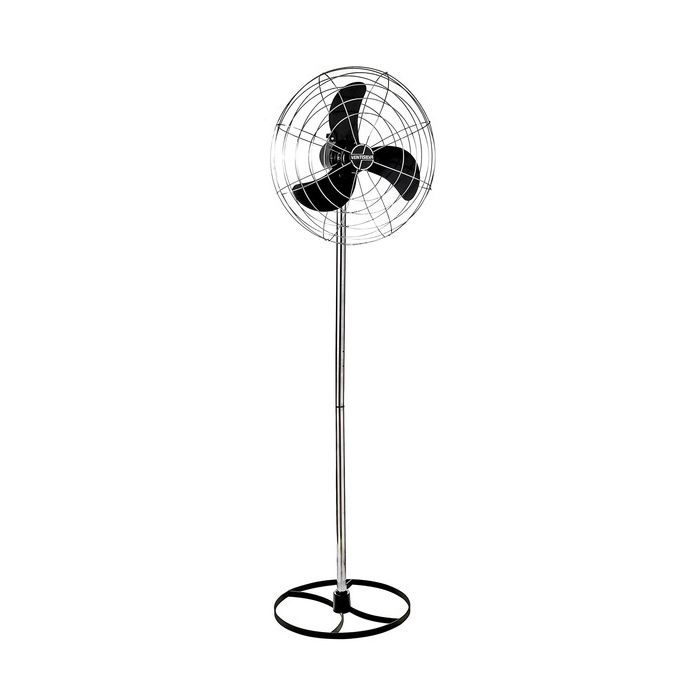 Ventilador de coluna 65cm 127/220v c/ajuste de vel. preto ventisilva mod. vcl