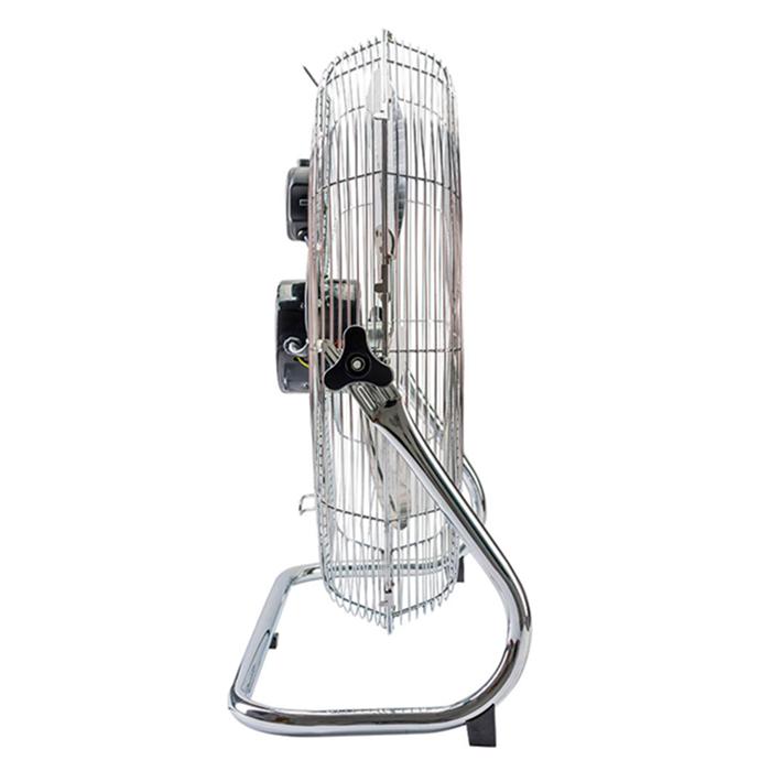 Ventilador de mesa 50cm 127v prata ventisol mod. turbo chrome caa ref. 805