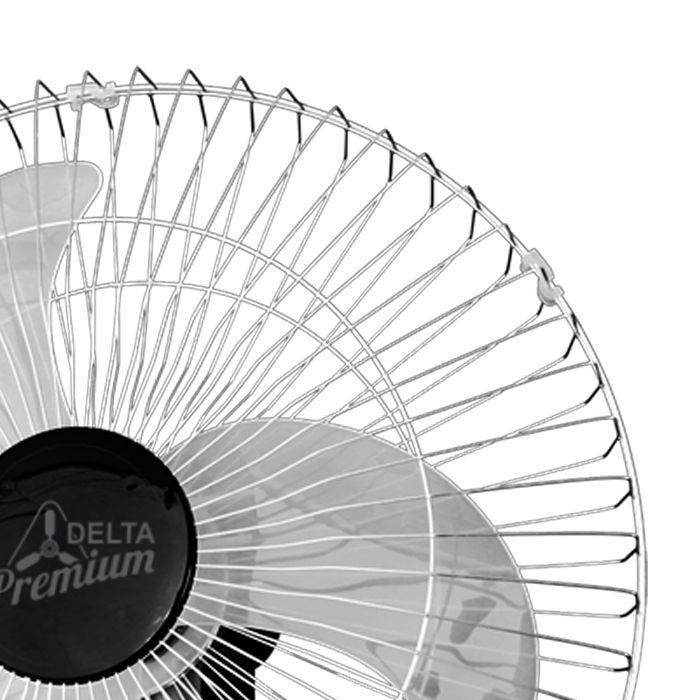 Ventilador de parede 60cm 127/220v prata ventidelta mod new premium ref.73-6429