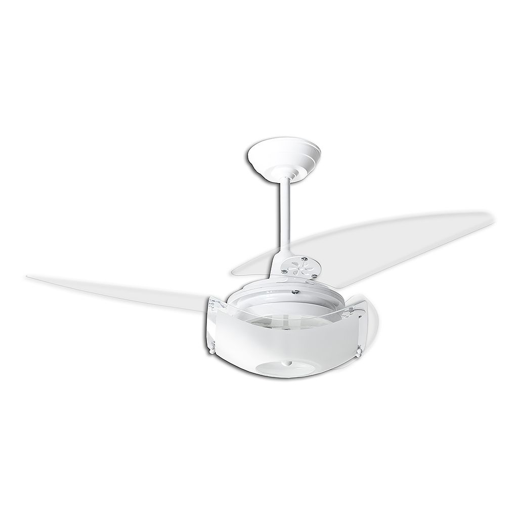 Ventilador de Teto Loren Sid Onix 3 Pás 110cm Branco - 127v