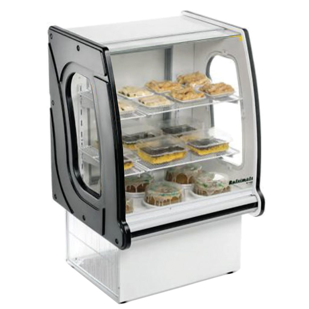 Vitrine natural new panoramica refrimate 0,73 mt preto vnps 730