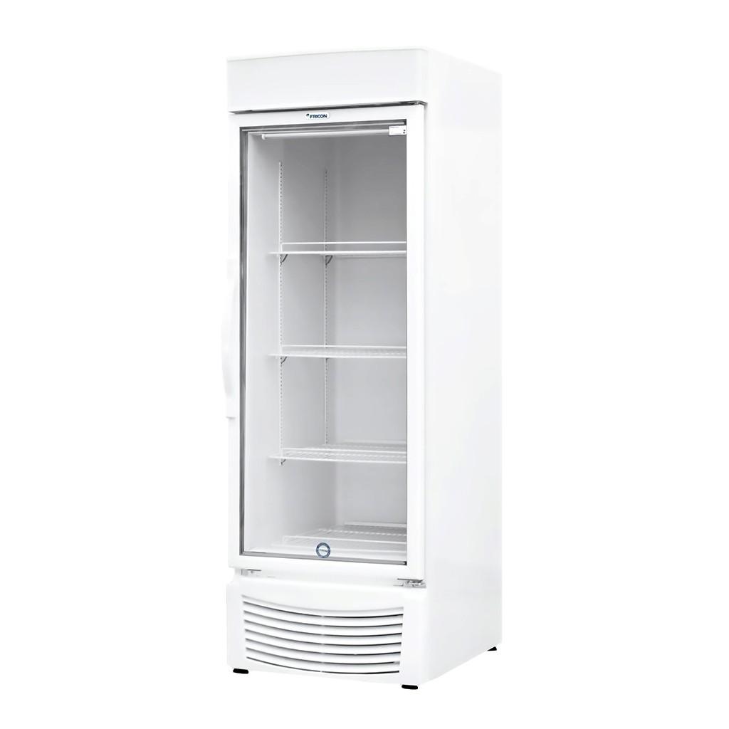 Vitrine Vertical Refrigeradora e Freezer Para Bebidas 284L Fricon Branco VCED 284 V - 127v