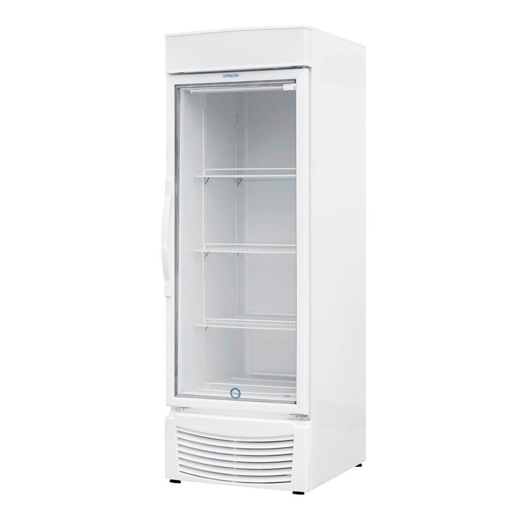 Vitrine Vertical Refrigeradora e Freezer Para Bebidas 565L Fricon Branco VCED 565 V - 127v