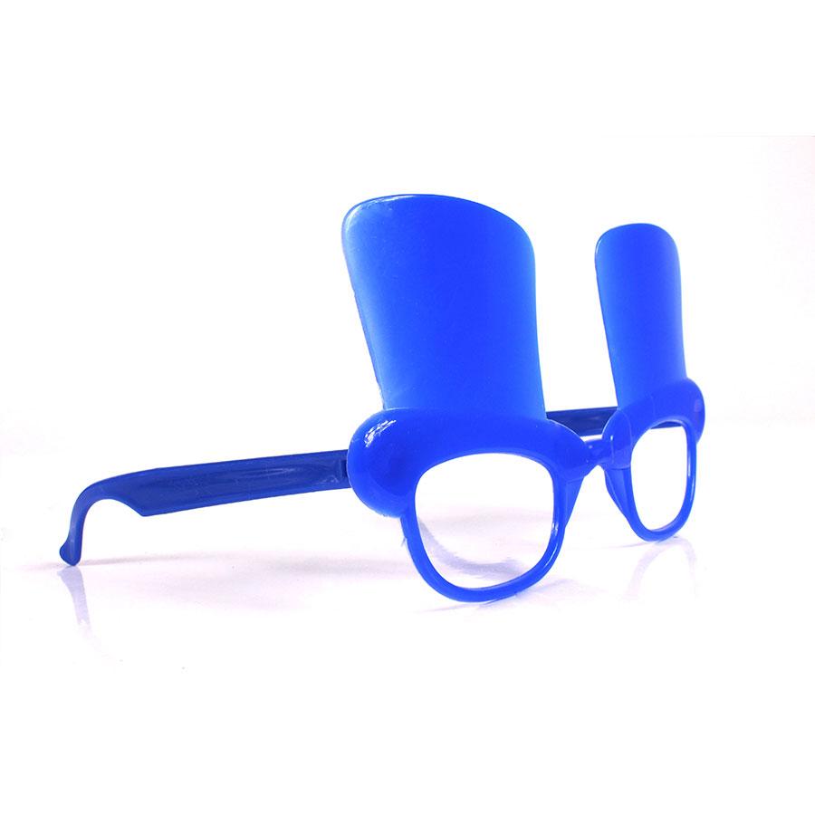 Óculos de Plástico Cartola Sem Lente - Cores Sortidas