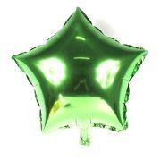 18 Balão Metalizado Estrela 48cm Verde