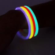 20 Óculos + 100 Pulseiras Neon + 4 Lança Confete