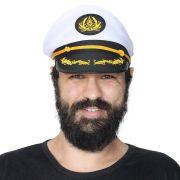 35 Chapéus Quepe Capitão Marinheiro Marinha Fantasia Festa