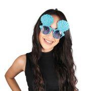 Acessório Óculos Sereia Azul C/1un