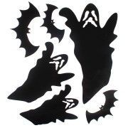 Adesivo de Vinil Fantasma Halloween - 6 Unidades