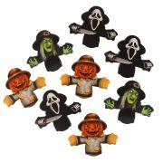 Aplique Decorativo Tag Halloween Personagens