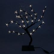 Árvore de Natal Luminosa com 32 LEDs Âmbar - 40cm
