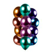 Balão Balloontec  Chromium Nº10 Sortido 20Un