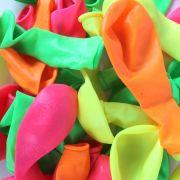 Balão Neon Cores Cítricas nº 7 Balloontech - 30 Unidades