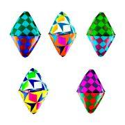 Balão Junino Decorativo de Seda - 5 Unidades