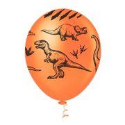 Balão Látex Decorado Dinossauros 10