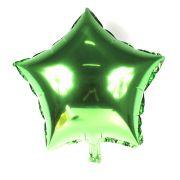 Balão Metalizado Estrela Verde 48cm