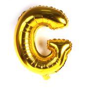Balão Metalizado Letra G Dourado 35cm