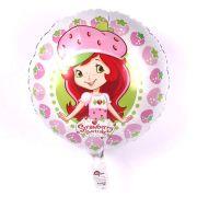 Balão Metalizado Moranguinho Luxo un.