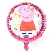 Balão Metalizado Peppa Pig Luxo un.