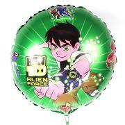 Balão Metalizado Redondo Ben 10