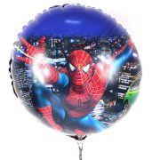 Balão Metalizado Redondo Spider Man / Homem Aranha
