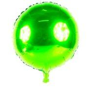 Balão Metalizado Redondo Verde 18´´ unidade