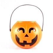 Balde Abóbora de Halloween com Alça - 3 litros