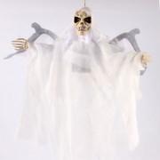 Boneco Caveira com Som e Movimento - Branca