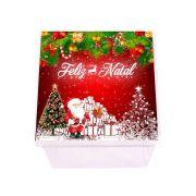 Caixa Acrílica Personalizada Feliz Natal 2018
