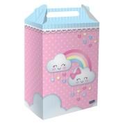 Caixa Surpresa Nuvens Chuva de Amor 8 unidades