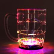Caneca de Chopp com Pisca LED 350ml