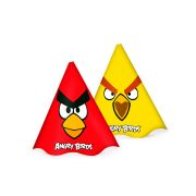 Chapéu Aniversário Angry Birds 8Un