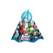 Chapéu Aniversário Vingadores Avengers 8Un