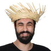Chapéu de Palha Desfiado Adulto Masculino