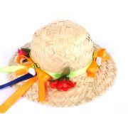 Chapéu de Festa Junina Laranjinha com Grampo